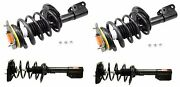 For Monroe Quick-strut Complete Front And Rear Strut Kit For Buick Allure Chevy