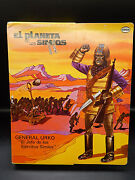 Rare Vintage Cipsa Planet Of The Apes General Urko Action Figure Mego Mexico Mib