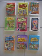 Wacky Packages Ans1-2-3-4-5-6-7-8-9 520 Card 7 Year Collection Nine Set Wow Sale