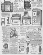 Victorian Adverts Maple And Co Furniture, Clothing, Scents - Antique Print 1881