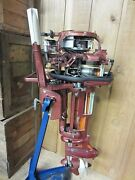 Antique Johnson Sea Horse 10hp Outboard Motor Boat Show Display Model