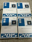 2015 Buick Encore And Chevy Trax Service Shop Repair Manual Set Factory New