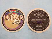 Beer Brewery Coaster Boulevard Brewing Company Lunar Ale Unfiltered Fridays