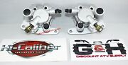 New 2003-2008 Yamaha Yfm 660 Grizzly Front Left And Right Brake Calipers With Pads