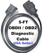 Obdii Obd2 Cable For Bartec Usa Tech300pro Tech300proc Tpms Activation Scan Tool