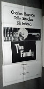 The Family/violent City Original 1973 One Sheet Movie Poster Charles Bronson