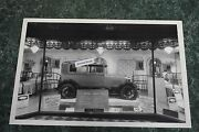 12 By 18 Black And White Picture 1928 1929 Ford 2 Door In Window Display