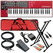 Nord Lead A1 Analog Modeling Synthesizer Stage Rig