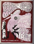 The Print Mint Opening Day Psychedelic Poster, 1966. First Printing