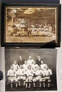 1913 Stanford Baseball Team Photo + Photo With Japanese Players