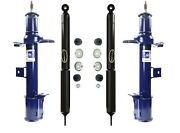 For Ford Escape Mazda Tribute Mercury Front And Rear Monroe Struts Shocks Kit