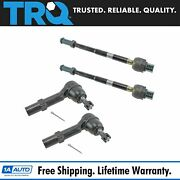 Trq Tie Rod End Inner Outer Front Lh Rh Set For Enclave Traverse Acadia Outlook