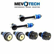 For Dodge 4wd Pair Set Of 2 Front And Upper Ball Joint+sway Bar Link Kits Mevotech