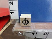 Stampin Up 1998 Compass Saying N W E S Direction Rubber Stamp 7m