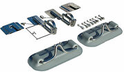 Snap Davits For Inflatable Boat And Swim Platform W Quick Release Kit Extended 2