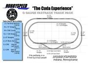 Lionel Fastrack The Cuda Experience Track Pack 5' X 9' O Gauge Train Layout New