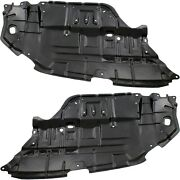 Left And Right Side Engine Splash Shield For 2012-2014 Toyota Camry Set Of 2
