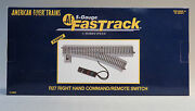 Lionel American Flyer Fastrack R27 Right Command/remote Switch S Gauge 6-49886