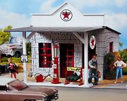 Piko Texaco Gas Station G Scale Building Kit 62264 New In Box