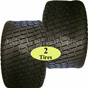 Two 18x8.50-8 Tires For Zero Turn Riding Lawn Mower Garden Compact Tractor 4ply