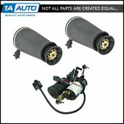 Rear Air Suspension Springs And Compressor Arnott For Lincoln