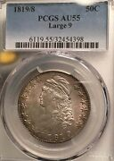 1819/8 50c Large 9 Au55 Pcgs-pq-only 50 In Higher Grade
