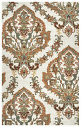 9x12 Rizzy Rugs Ivory Floral Ornamental Paisley Area Rug Al2665 - Aprx 9and039 X 12and039