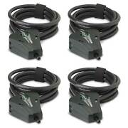 Stealth Cam 6and039 Master Python Black Security Lock Cable For Game Cameras 4 Pack