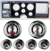 88-94 Gm Truck Carbon Dash Carrier W/ Auto Meter American Muscle Gauges