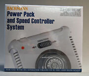 Bachmann Ez Track Power Pack And Speed Controller Ho N Scale Transformer Bac44211