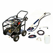 Diesel Jet Washer Pressure Cleaner Patio Drain Roof Cleaning Km3600dxr Cleaning