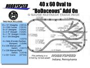 Lionel Fastrack 40x60 To Bodaceous Track Layout Conversion Add-on-pack Design