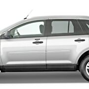 Painted Body Side Moldings With Chrome Trim Insert For Lincoln Mkx 2007-2015