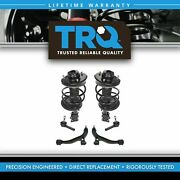 Trq 6 Pc Steering And Suspension Kit Complete Struts Control Arms Outer Tie Rods