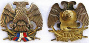 Serbia And Montenegro Army Soldiers Beret Hat Badge Pin From 1994 Militaria
