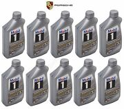 Mobil 10l 0w-40 Engine Oil Fully Synthetic Genuine Q 1 09 0015 For Mb Spec 229.5