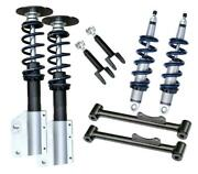 Ridetech 79-89 Ford Mustang Coil Over Suspension System Level 2 Kit 12120210