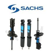For Saab 9-3 Set Of 2 Front Strut Assies And 2 Rare Shock Absorbers Kit Sachs Oem