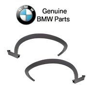 For Bmw F25 X3 11-17 F26 X4 Pair Set Of Left And Right Wheel Arch Trims Genuine