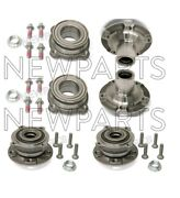 For Bmw E70 F15 X6 X5 Complete Set Of Front And Rear Wheel Hubs W/ Bearings