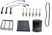 For Lexus Gs300 L6 3.0l Tune Up Kit W/ Filters Sprak Plugs Wire Set And Belt