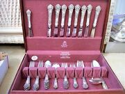 Set Of And03937and039 Piece Sterling Silver French Renaissance W/servers Reed And Barton