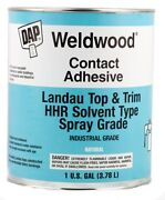 Dap 00233 Weldwood Contact Cement Landau Top And Trim Hhr Solvent Type 1 Gallon