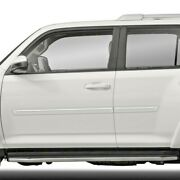 Painted Body Side Moldings With Chrome Trim Insert For Toyota 4runner 2010-2021