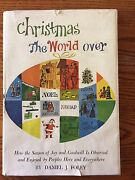 Christmas The World Over By Daniel J. Foley Vintage Chilton Books Hardcover