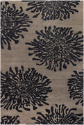 9x13 Surya Beige Abstract Hand Knotted Shapes Area Rug Bst-496 - Aprx 9and039x13and039