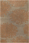 9x13 Surya Beige Abstract Hand Tufted Shapes Area Rug Bst-495 - Aprx 9and039x13and039