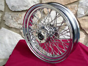 16x3.5 Kcint Dna 60 Spoke Rear Wheel For Harley Dyna And Sportster 2008-up