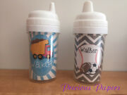 Dump Truck Personalized Sippy Cups Kids Sippy Cups Sports Sippy Cup