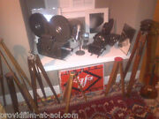Antiques Rare Movie Cams Studio Lites Old Mics For Your Fine Home Make Offer